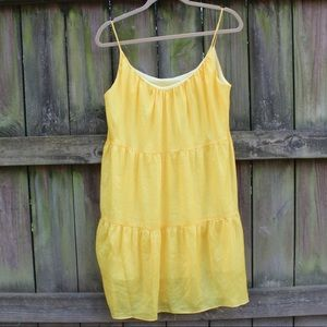 Cute summer yellow dress